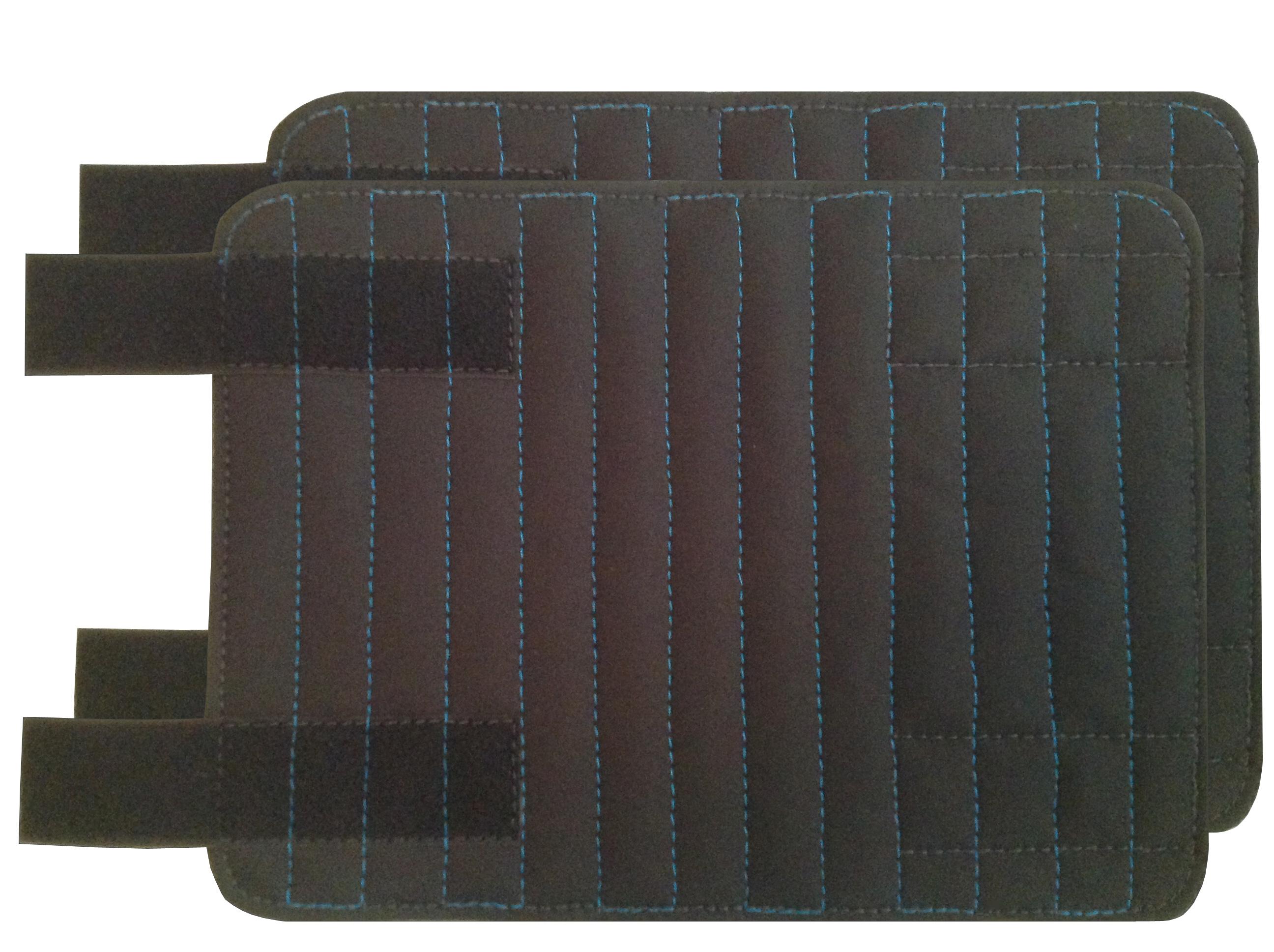 2 Bandagierpads mit Klettverschlüsse
